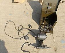 Dumore Tool Post Grinder 44 011 With Metal Storage Case