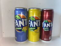 Rare and Exotic Fanta 3 Pack  Shokta, Lemon, Xa-Xi
