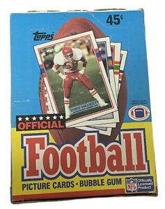 1989 Topps Football Hobby Box GEM 36 Pack FASC