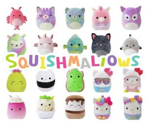 Squishmallows Genuine Kellytoy Soft Plush PRE-ORDER new designs inc Hello Kitty