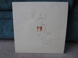 Signed Pet Shop Boys Please LP Record Vinyl Album Neil Tennant Autograph