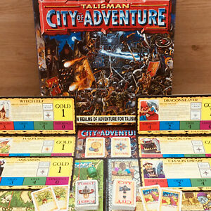 Talisman 3rd Edition City Of Adventure Boxed NO MODELS Otherwise Complete!