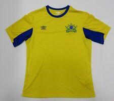 Umbro BRASIL National Team Yellow Soccer Style Jersey Adult Size Medium