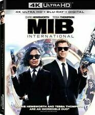 Men In Black Mib International 4K Uhd Ultra Hd Blu-Ray Digital & Slipcover New