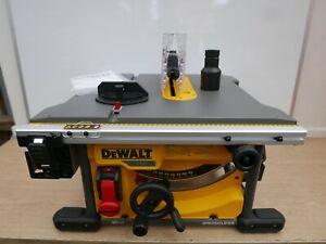 BRAND NEW DEWALT DCS7485 XR 54V 210MM COMPACT TABLE SAW BARE UNIT