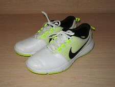 Nike Explorer SL Spikeless Golf Shoes White Volt 704694 101 Mens Size US 8