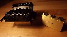 Floyd Rose tremolo big brass sustain block 32mm bridge upgrade