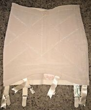 New listing Vintage Pinup Gossard Answer Beige Open Bottom Girdle sz 25 / Small