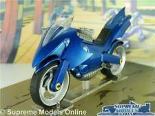 BATMAN BATCYCLE MODEL BIKE LEGENDS OF THE DARK KNIGHT 1:22 SCALE AUTOMOBILIA K8