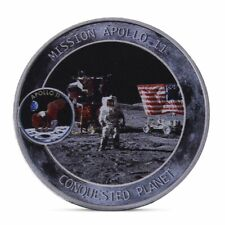 American astronauts on the moon Commemorative Coin Collection Gift Souvenir Art
