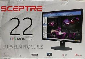 "SCEPTRE 22"" ULTRA SLIM LED MONITOR"