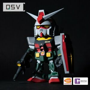 Bandai Namco QSV 002 Gundam Figure RX-78-2 Real-Type Color Unopened