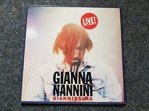 Gianna Nannini - Giannissima Live Vinyl LP Holland