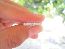 .25 Carat Diamond Half Eternity Ring PT900 HE34 sep