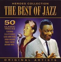 Various Artists Heroes Collection The Best of Jazz CD 50 Classic Tracks 2CD NEW