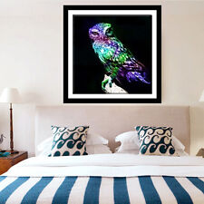DIY 5D Diamond Embroidery Painting Dark Craft Owl In The Cross Stitch Home Decor
