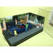Voitures de tourisme miniatures bleus Peugeot