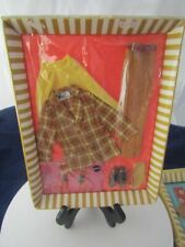 VINTAGE 1970 BARBIE-KEN AND BRAD # 1436 BOLD GOLD OUTFIT NEW IN PACKAGE !!
