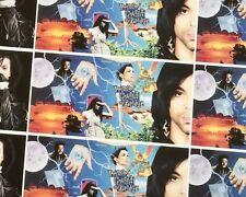 ♥ PRINCE ♥ Original CD BOOK Poster PURPLE RARE Doppelseitig 100 x 70,5 Unbenutzt