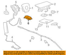 GM OEM Airbag Air Bag-RCM SDM ACM Restraint Control Module 23369683