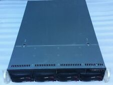 SuperMicro 2U CSE-825 Server Chassis w/ 2x PWS-721P-1R Power Supplies, SAS825TQ