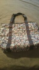 GET BOTH! LeSportsac ERICKSON BEAMON Tote/Travel Bag & Matching Cosmetic Bag
