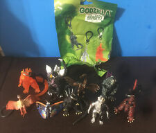 Surreal 65th Anniversary Godzilla Hangers 3inches Lot Of 9 Out Of 10