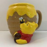 DISNEY STORE Winnie the Pooh 3D Mug Honey Pot Cup Large Mug