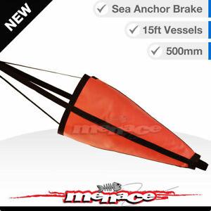 500mm SEA ANCHOR BRAKE Suits 15ft 4.5m Boat Yacht Kayak Fishing Drift Drogue