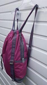 Women`s Girls New Backpack School Sports Gym Work Travel Pink