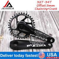 1 Pair Bike Axle Bolt Screw Capless Bike Key Crank Arm Bottom For Cycling/_fr