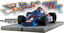 Speedville Slot Car body -  Indy Sprinter for Womp Chassis - Sprint Car