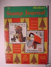 MINKUS STAMP JOURNAL Magazine VOL. XII, NO. 4 -- 1977