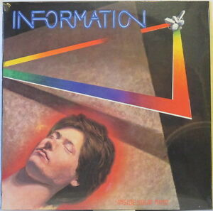 INFORMATION Inside Your Mind LP 1980s Minimal Synth/Wave – SEALED Private HEAR!