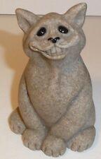 Chico Second Nature Design Quarry Critters Figure Figurine Cat Kitten Smile