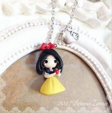 Collana Chibi Biancaneve Cute Disney Fimo Polymer Clay Kawaii tiny Princess