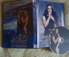 Melanie C Dvd fanmade Live concert Spice Girls rare