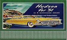 Billboard for Lionel Holder lboard 1951 Hudson Automobile In 4 Matchless Series