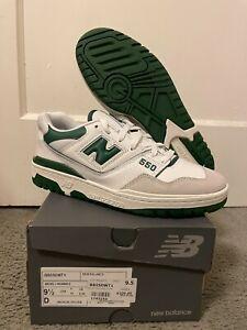 New Balance 550 - White/Green, BRAND NEW, Size 9.5, BB550WT1