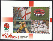 Englands Victory Rugby World Cup 2003 Miniature Sheet - Stamps Mint MS2416