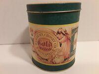 Vintage Tin Washburn's Gold Medal Flour Crosby Co. Minneapolis 1990 Bristol Ware