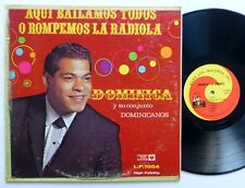 DOMINICA y Su Conjunto Dominicanos Aqui Bailamos LP Mary Lou 1004 bolero   Bx206