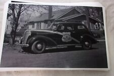 1938 CHEVROLET POLICE CAR    11 X 17  PHOTO  PICTURE