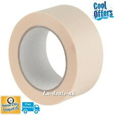 1 rolls MASKING Tape 50mm 50m STRONG painting decoratorts art kraft scotch