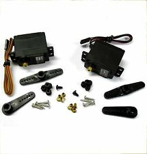 GS-5509MG+5515 9kg Throttle 15kg High Torque Steering RC Truck Servo Metal Gear