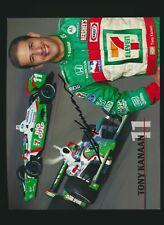 2004 IRL IndyCar autographed photo Tony Kanaan