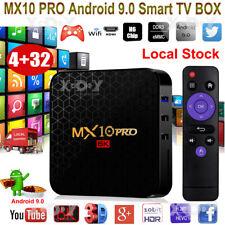 MX10 PRO 6K 4+32G Android 9.0 OS TV BOX Quad Core 2.4G WLAN Allwinner UHD Movies
