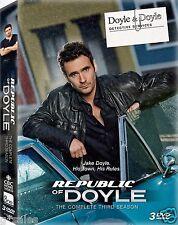 Republic of Doyle ~ Complete 3rd Third Season 3 Three ~ BRAND NEW 3-DISC DVD SET