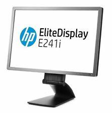 """HP EliteDisplay E241i   24"""" TFT 61cm Wide 250cd/m2 1000:1 VGA DVI DP USB Pivot T"""