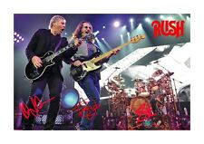 Rush 3 A4 reproduction autograph photograph poster with choice of frame